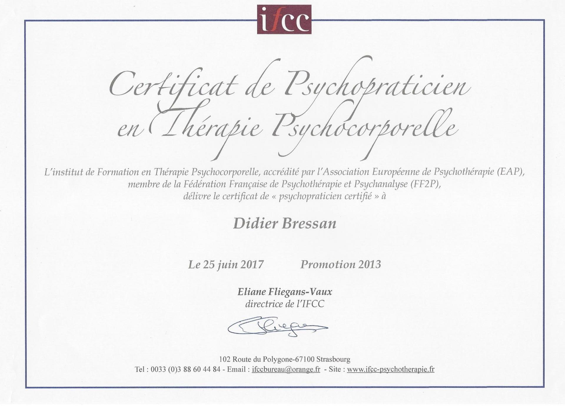Titres et Certificats