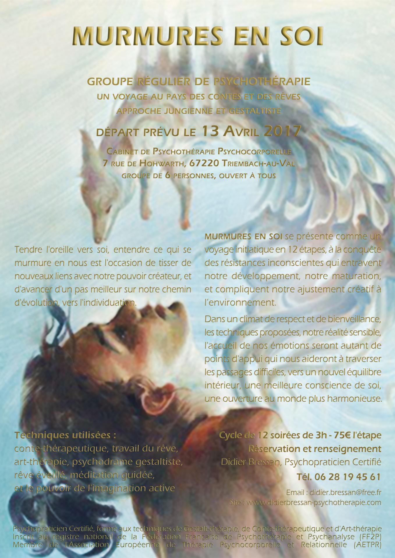 Voix des Rêves, Sagesse de Conte - Didier BRESSAN