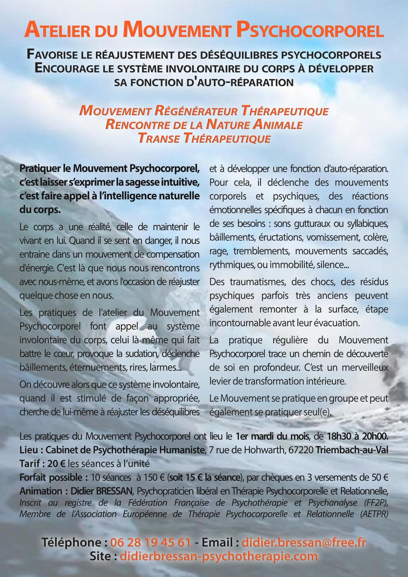 Pratique du Mouvement Psychocorporel